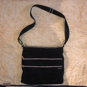 Baggallini Bags - Black nylon cross body bag